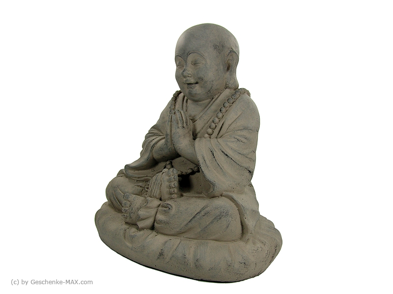 buddha figur sitzend kleiner buddha 3xl i cm bud 001 ebay. Black Bedroom Furniture Sets. Home Design Ideas